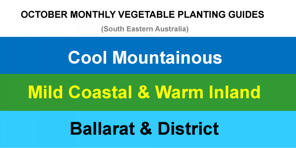 2020-09-28 OCTOBER MONTHLY VEGETABLE PLANTING GUIDES UPDATE